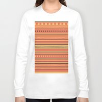indian Long Sleeve T-shirts featuring Indian by Julia Brnv