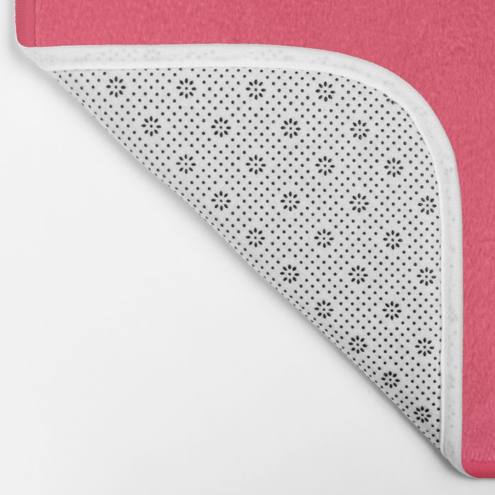 Sugar Heart (Pink) Color Bath Mat
