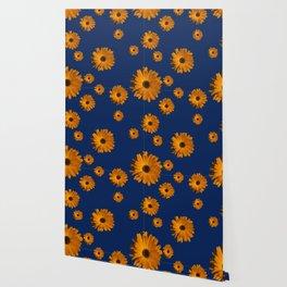 Orange power flower Wallpaper