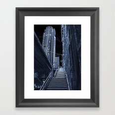 Night Steps Framed Art Print