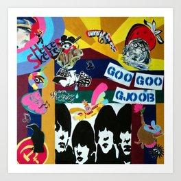 Goo Goo GJoob Art Print