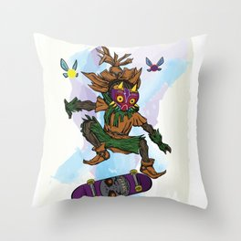 You've Met With A Gnarly Fate, Haven't You? Throw Pillow