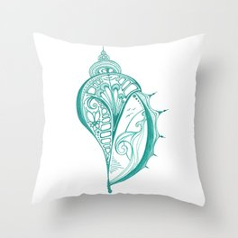 Otherworldly Shell Throw Pillow