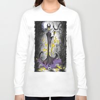 maleficent Long Sleeve T-shirts featuring Maleficent  by Jena Sinclair