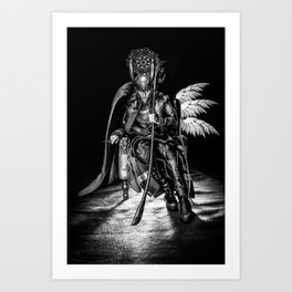 I AM A King (B/W) Art Print