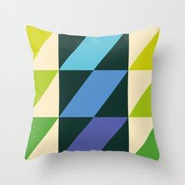 rhomboid echo segmentation Throw Pillow