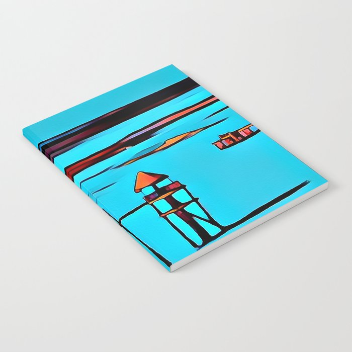 Baywatch Tower Notebook