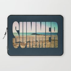 Summer - Frontignan beach in southern france - seascape Laptop Sleeve