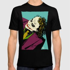 Joker So Serious Mens Fitted Tee LARGE Black
