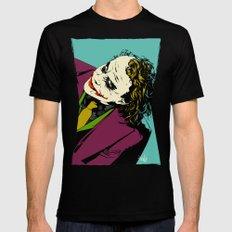 Joker So Serious Black MEDIUM Mens Fitted Tee