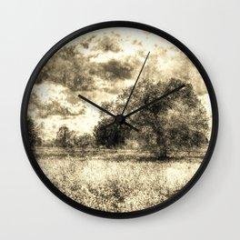 The Vintage Farm Wall Clock