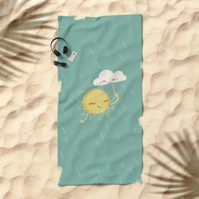 Little Sun Beach Towel