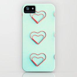 Little Hearts iPhone Case