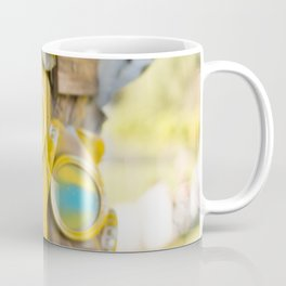 Yellow gas mask Coffee Mug