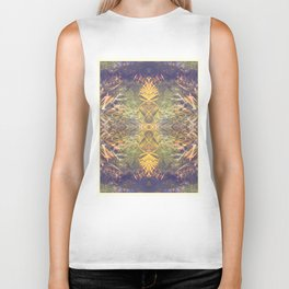 Tropical Kaleidoscope  Biker Tank