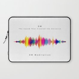 Om - The Sound that created the Universe Laptop Sleeve