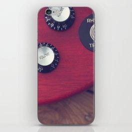 Guitar Dials iPhone Skin