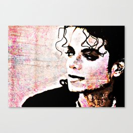 Pop Lord In Color Canvas Print
