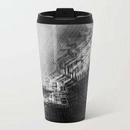 city in monochrome Metal Travel Mug