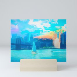Skyline Mix Mini Art Print