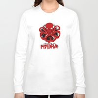agents of shield Long Sleeve T-shirts featuring Agents Of Hydra by monsieurgordon