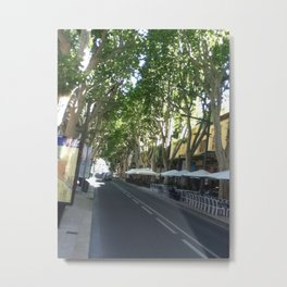 French Street Metal Print
