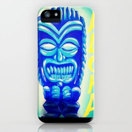 Aloha Tiki iPhone Case