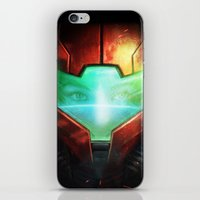 metroid iPhone & iPod Skins featuring Metroid by Joe Roberts