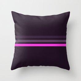 Alamak - Classic Retro Stripes Throw Pillow