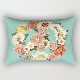 Botanica Peace sign Rectangular Pillow