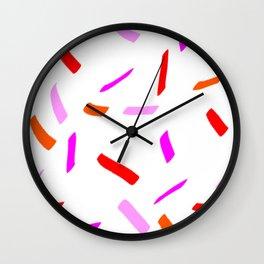Pink inspiration Wall Clock
