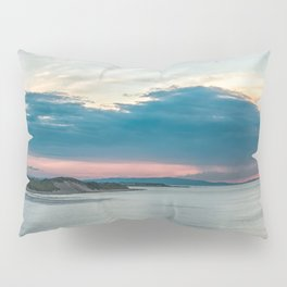 White rocks beach,ireland,Northern Ireland,Portrush Pillow Sham