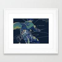 levi Framed Art Prints featuring LEvi  by KELLLL