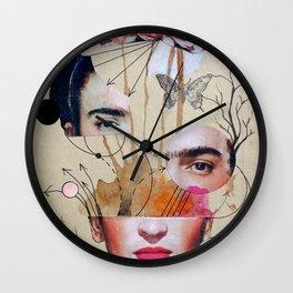 FRIDA FOR BEGINNERS Wall Clock