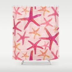 Sea Star Shower Curtain