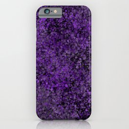 """Purple Galaxy"" Digital Art iPhone Case"