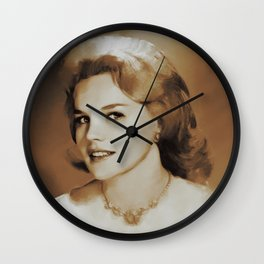 Hollywood Legends, Carrol Baker, Actress Wall Clock