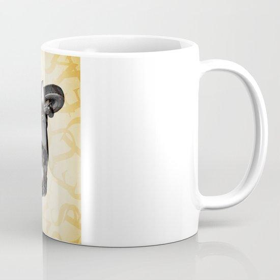 Mr O on his vespa Mug
