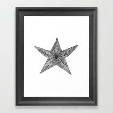 Star Jelly I B&W Framed Art Print