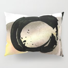 Enso Abstraction No. 105 by Kathy morton Stanion Pillow Sham
