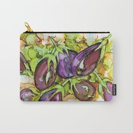 Aubergines Eggplants Berenjenas Carry-All Pouch
