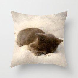 Tiny Tim Throw Pillow