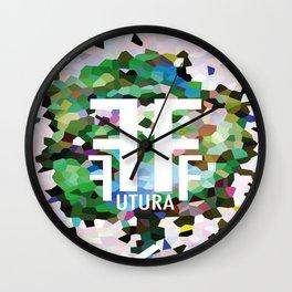 Perception Experiment 002 Futura Condensed Wall Clock