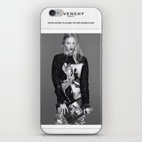 givenchy iPhone & iPod Skins featuring Givenchy Paris by CHESSOrdinary