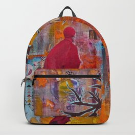 Finding My Way (The Path to Self Discovery/Actualization) Backpack