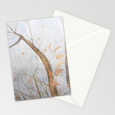 Watercolor under the trees Stationery Cards