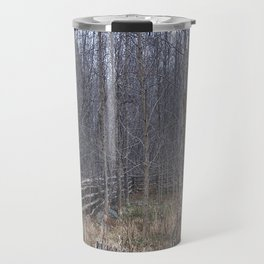 Fenced-in and Neglected Travel Mug