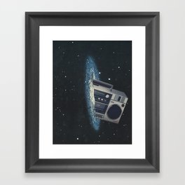 The Big Boom Framed Art Print