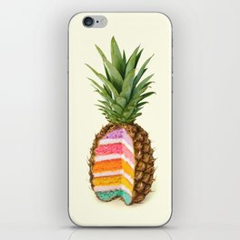 PINEAPPLE CAKE iPhone Skin