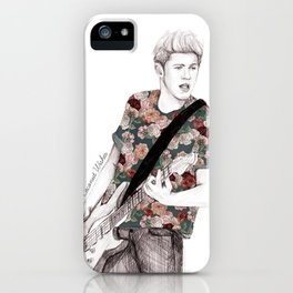 Floral Niall iPhone Case
